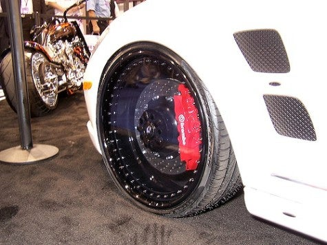 SEMA Show: Clear Wheels