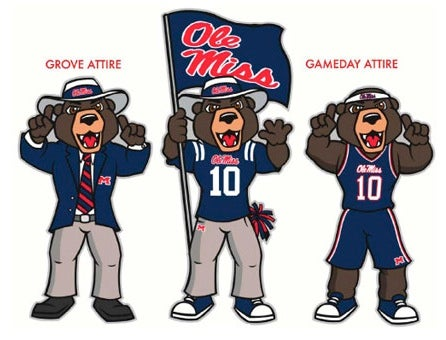 Meet Your New, Non-offensive University of Mississippi Mascot