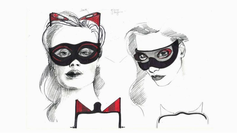 Catwoman concept art shows off Selina Kyle's Catsuit that never was