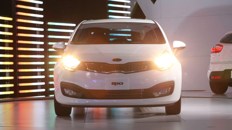 New Kia Rio is not a domesticated macaw from small-town Minnesota