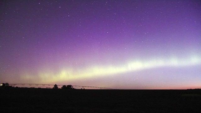 Aurora Borealis Stuns Over Minnesota