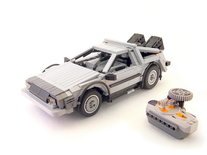 Lego DeLorean Is 100% Remote-Controlled Brick Awesomeness