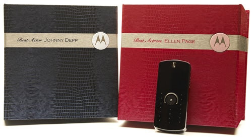 Motorola Gifts Personalized Copies of Its ROKR E8 to Oscar Nominees