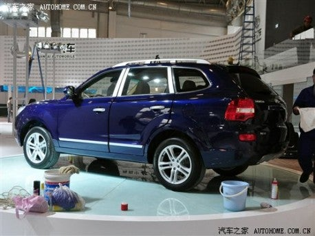 Chinese Copy, Improve Porsche Cayenne