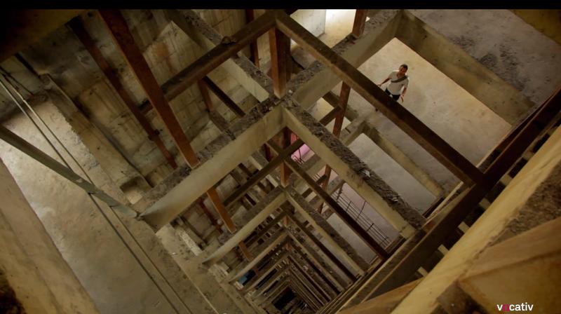 Rare Video From Inside a 45-Story Venezuelan Slum