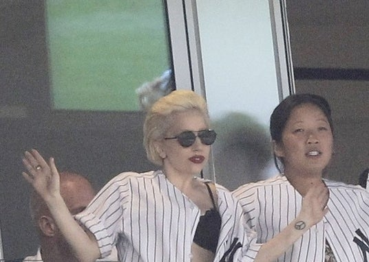 Lady Gaga Banned From Yankee Stadium Clubhouse For Being Lady Gaga