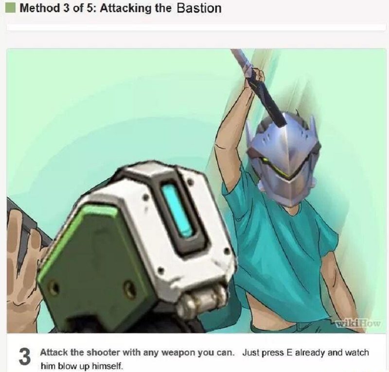 It's Time To Stop Being Salty About Bastion In Overwatch
