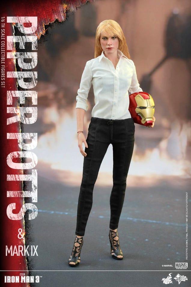Gwyneth Paltrow's Lifelike Pepper Potts Figure Is Silently Judging You