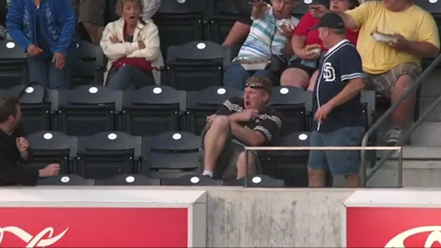 Padres Fan Gets Hit By Foul Ball Because Of Mark Zuckerberg
