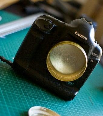 Turn a Candy Tin into a Cheap DSLR Pinhole Lens