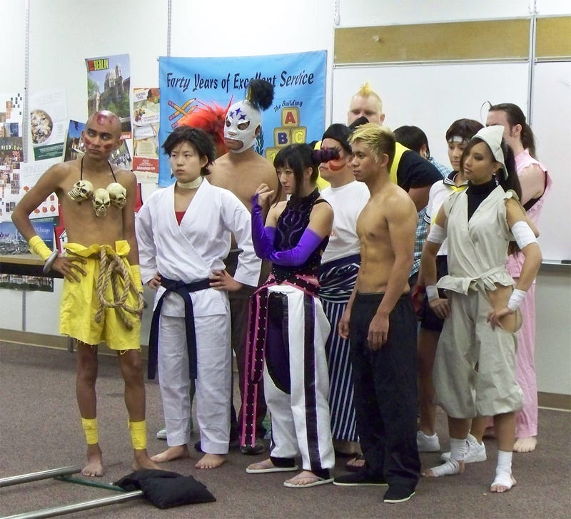 Street Fighter High Enrolls Some New Students