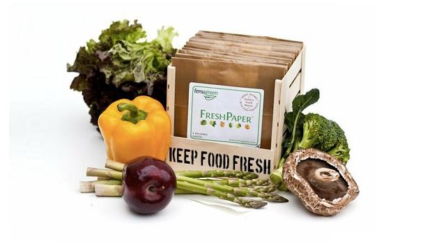 FreshPaper Keeps Fruits and Veg Fresher, Longer