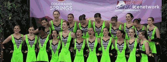 I Can't Stop Watching These Synchronized Skaters Freak The Hell Out