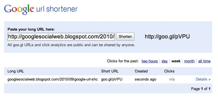 Google URL Shortener, aka Goo.gl, Finally Gets Its Own Web Site