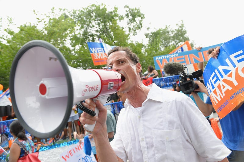 Anthony Weiner Blames Internet for Him Not Being NYC Mayor