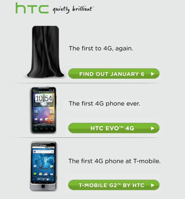 Will the HTC Incredible HD Come Out to Play on January 6th?