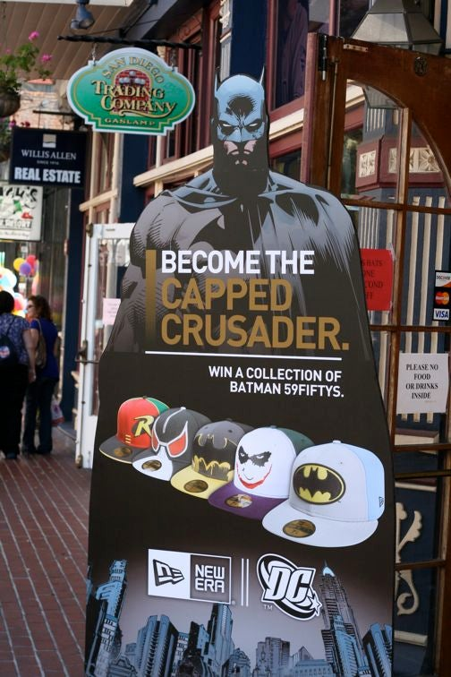 Boobs, Balls And Batman: Comic Con Badvertising