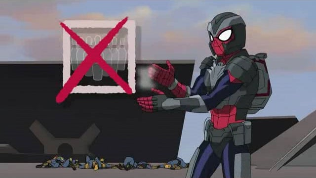 Spider-Man gets SHIELD Armor while Finn & Jake play Magic on Adventure Time