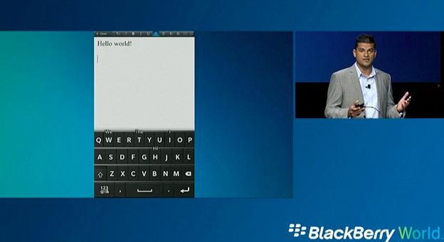 BlackBerry World Keynote: Follow Along Live!
