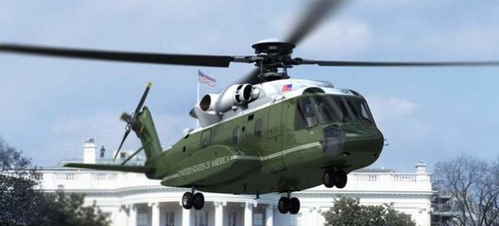 Why Shouldn't We Use The President's New Chopper For Search And Rescue