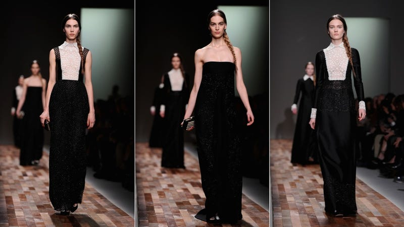 Valentino: What If Wednesday Addams Was a Sister Wife?