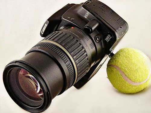 DIY Tennis Ball Photography Stabilization Unit