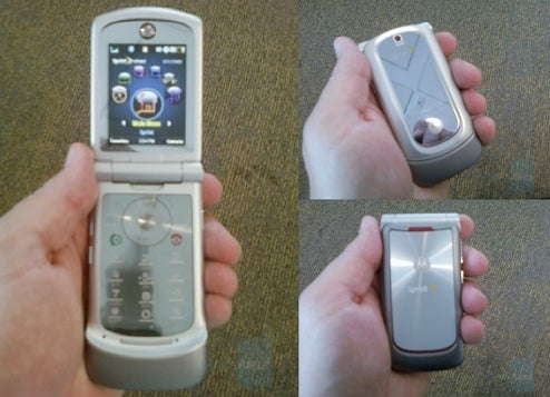 Blurred Photos Show Latest Motorola RAZR VE20 Coming to Sprint