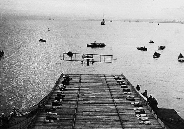 Trial Run: The World's First Aircraft Carrier In Action