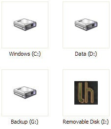 Assign a custom icon to your flash drive