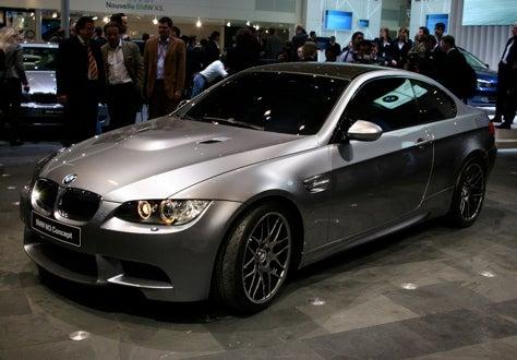 Geneva Premiere: BMW M3 Concept