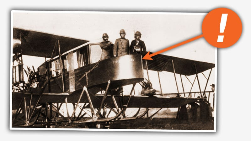 The World's First Multi-Engine Plane Had A Ridiculous Open Air Balcony