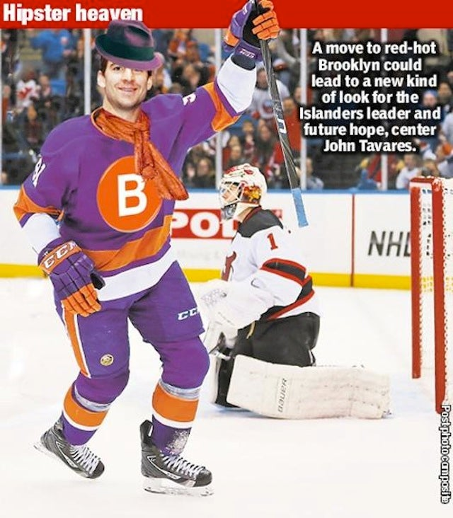 The New York Islanders May Be Rebranding, Because Brooklyn