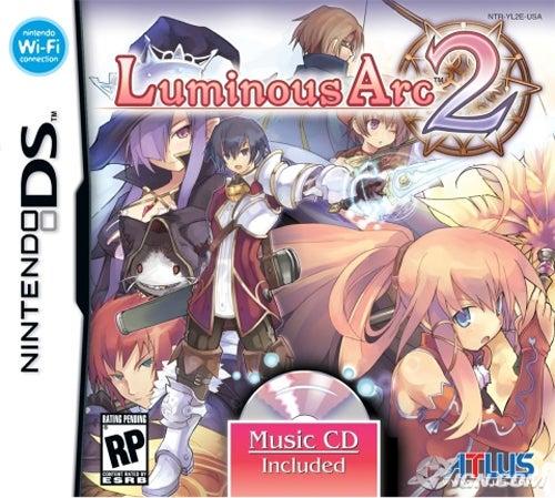 Atlus Announces Luminous Arc 2 For North America