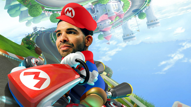 Someone Made A Drake-Mario Kart Mash-Up And It's Great