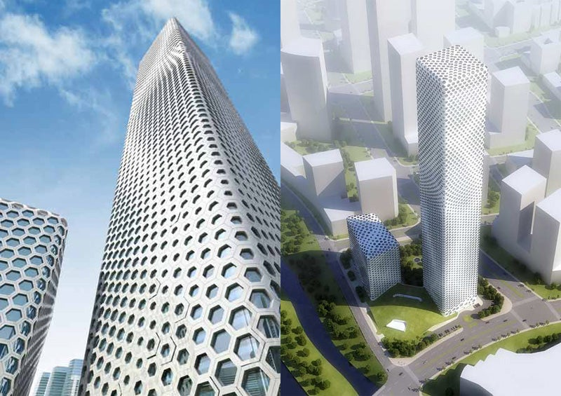 Honeycomb Skyscraper Has No Internal Structure, Attracts Giant Killer Wasps