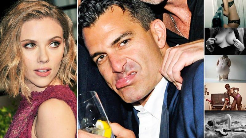 Meet Scarlett Johansson's Boob-Obsessed, Non-Celebrity Boyfriend