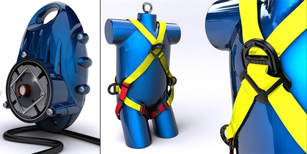 Wizard Rapid Descender Backpack Beats Taking the Stairs