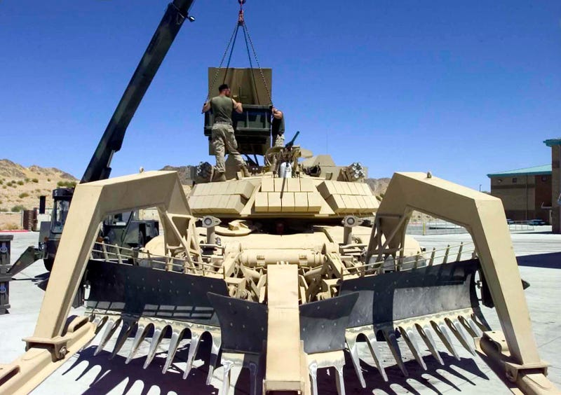 The Assault Breacher Tank: What Taliban Nightmares Are Made Of
