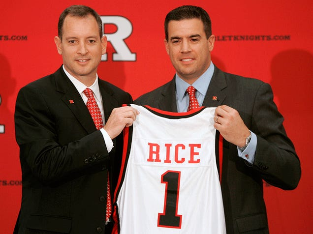 AD Tim Pernetti Follows Mike Rice Out The Door At Rutgers
