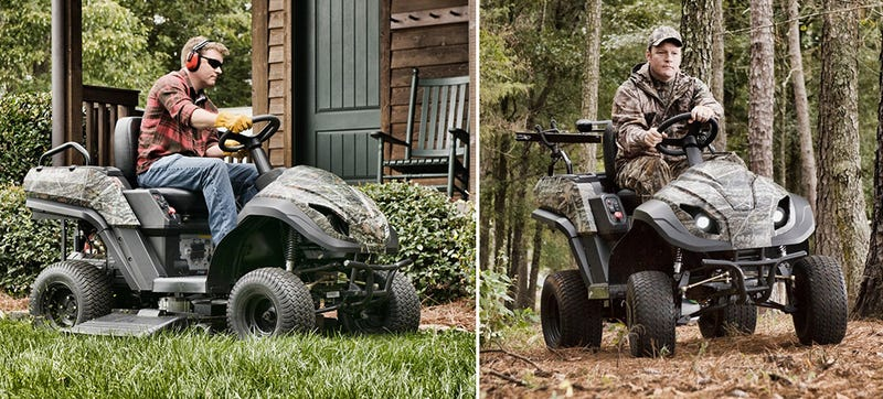 A Riding Mower That Transforms Into an ATV Is All Work and All Play