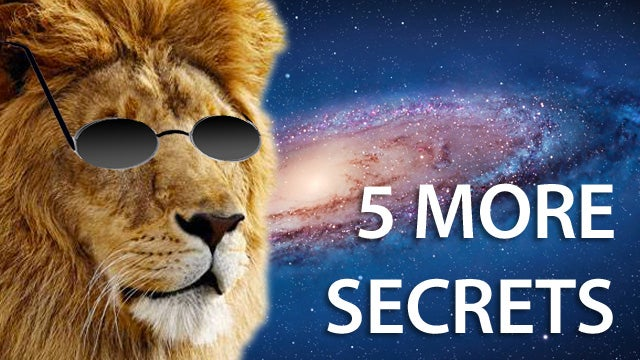 5 More Secret Features in OS X Lion