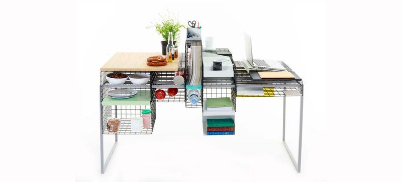 You Can Customize This Desk's Modular Cages In Countless Ways