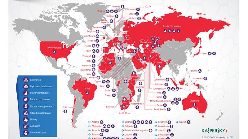 Así funciona Red October, la red de malware que ha robado miles de documentos en 5 años