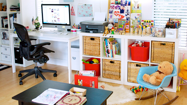 Playroom/Office Space