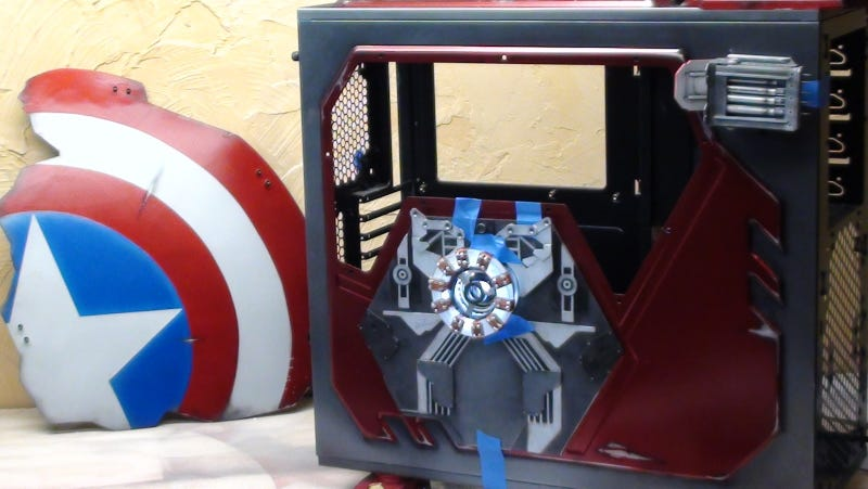 Iron Man PC Case Gallery