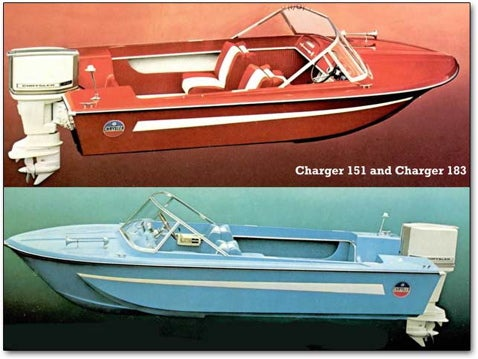 Before the Corvette Z06 Speedboat there was the Charger Runaboat