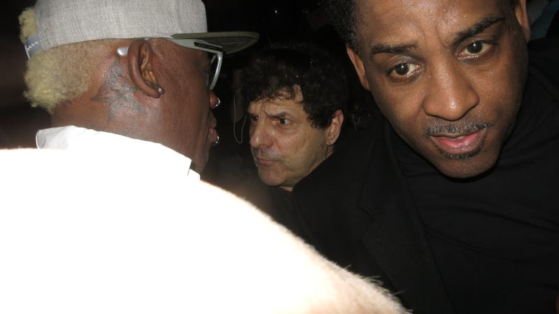 Dennis Rodman Rang In 52 with an Entourage of Strippers and Strangers