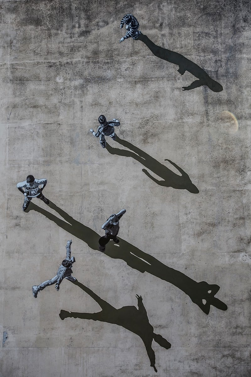 These Photorealistic Stencils Make Banksy Look Like an Amateur