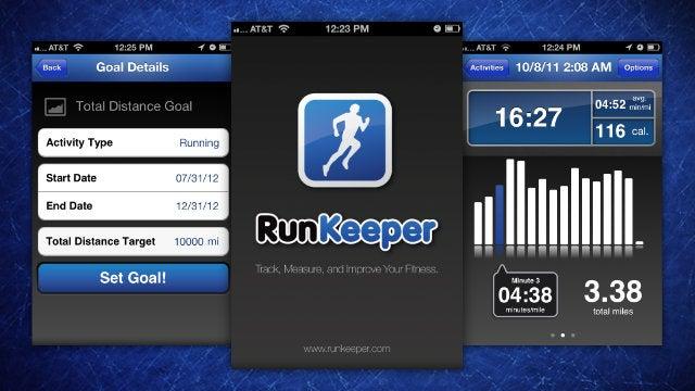 Most Popular Smartphone Running App: RunKeeper