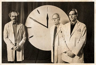 Doomsday Clock Moved Back One Minute